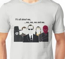 Movies - me, me, me, me and me Unisex T-Shirt