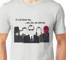 Movies - me, me, me, me and me Unisex T-Shirt