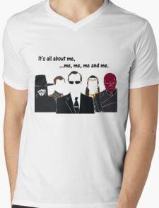 Movies - me, me, me, me and me Mens V-Neck T-Shirt