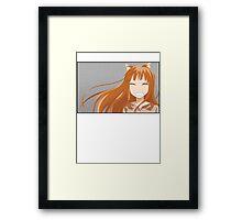 Holo - Spice & Wolf (Colour) Framed Print
