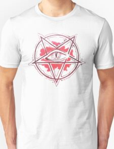 Pentagram star, circle, logo T-Shirt