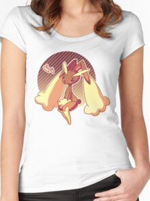 lopunny Women's Fitted Scoop T-Shirt