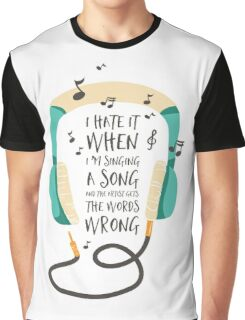 The Wrong Words Graphic T-Shirt