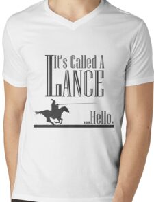 A Knight's Tale Lance Joust Mens V-Neck T-Shirt