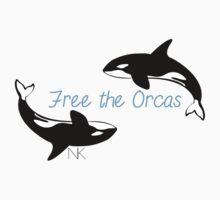 Free the Orcas Kids Tee