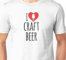 I Heart Craft Beer Unisex T-Shirt