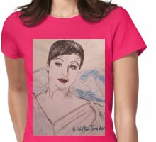 Beautiful Leslie Womens Fitted T-Shirt