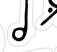 Music Notes and Symbols Sticker
