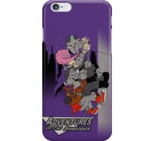 Adventures of shredder iPhone Case/Skin