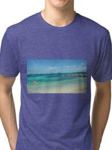 Private Beaches Tri-blend T-Shirt