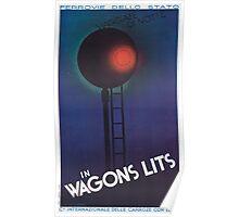 Vintage poster - Wagons Lits Poster