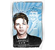 Frank Sinatra Quote. Mugshot. Art. Rat Pack.  Poster