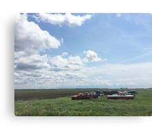 Middle of No Where Canvas Print