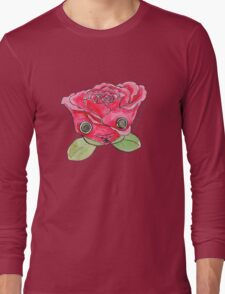 """Oro?"" Valentine's Rose Long Sleeve T-Shirt"