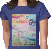 Caterpillar Sky Womens Fitted T-Shirt
