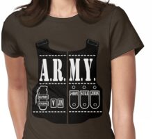 BTS Army Names Womens Fitted T-Shirt