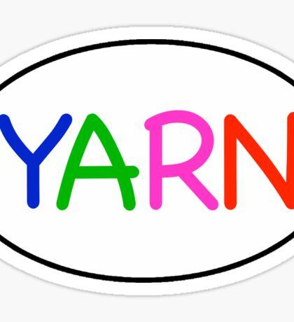 Yarn Euro  Sticker
