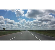 The Open Road Photographic Print