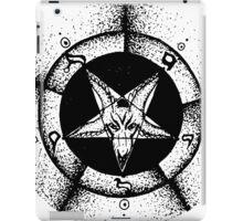 Pentagram star circle logo iPad Case/Skin