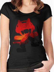 Polygon Fire Women's Fitted Scoop T-Shirt