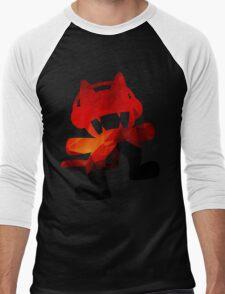 Polygon Fire Men's Baseball ¾ T-Shirt
