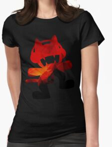 Polygon Fire Womens Fitted T-Shirt