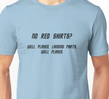No Red Shirts? Unisex T-Shirt