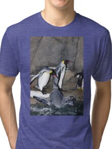 Penguin Splash Tri-blend T-Shirt