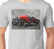 Old Red Roadster Unisex T-Shirt