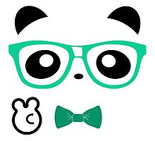 Hipster Panda by Official Fantique