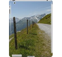 Mountains and Barbed Wire iPad Case/Skin