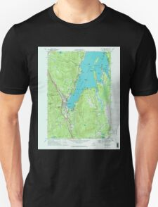 New York NY Lake George 130045 1966 24000 T-Shirt