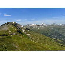 Austrain Alps Photographic Print