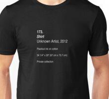 Shirt, as art (Dark) Unisex T-Shirt