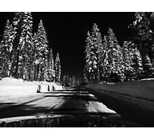 Road to Epic Snow Photographic Print