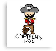 Captain's Log Canvas Print