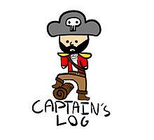 Captain's Log Photographic Print