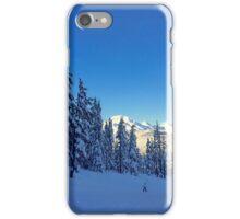 My Bachelor Ski Resort, Oregon iPhone Case/Skin
