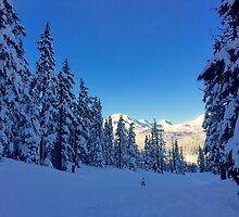 My Bachelor Ski Resort, Oregon by PaigeGodfrey