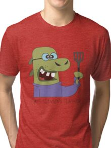 The Hash Slinging Slasher Tri-blend T-Shirt