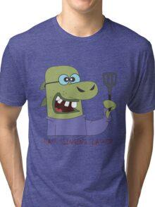 The Hash Slinging Slasher Tri-blend T-Shirt