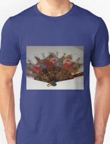 Ornate Floral Fan Unisex T-Shirt