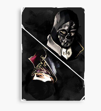 Dishonored tarot Canvas Print