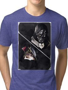 Dishonored tarot Tri-blend T-Shirt