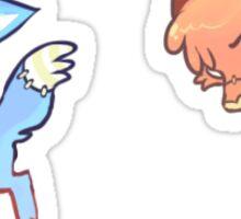 Sad Blue Mood Stickers! Sticker