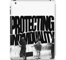 Protecting Individuality  iPad Case/Skin