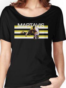 MARTAVIS Women's Relaxed Fit T-Shirt