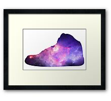 Basketball Sneaker Framed Print