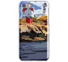 Nubble Lighthouse, York, ME iPhone Case/Skin