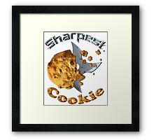 Sharpest Cookie (in the Jar) Framed Print